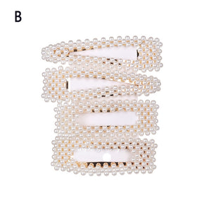 Pearl Hair Clips for Women - Kiwibay