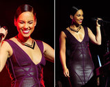 Alicia Keys - Chevron Prix Collar