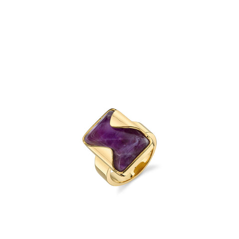 Amethyst Progression Ring