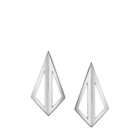 Cubist Leaf Earrings