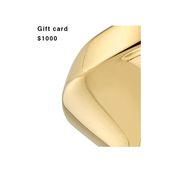 Gift Card for $1000