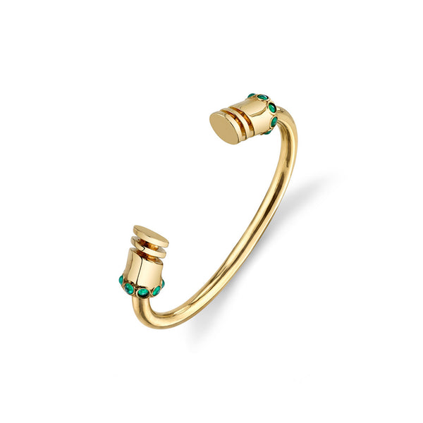 Niemeyer Cuff with Stones