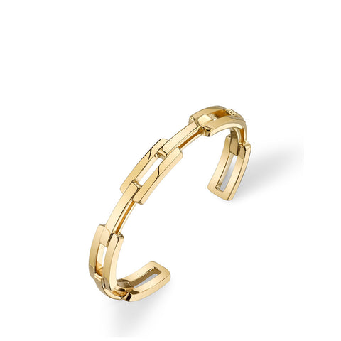 Solid Chain Cuff