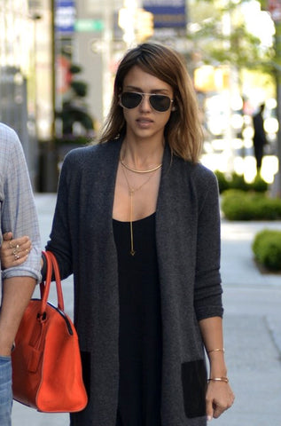 Jessica Alba - Unbroken Trail Necklace