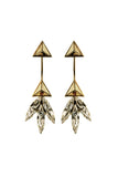 Kelly Clarkson - Pyramid Star Earrings