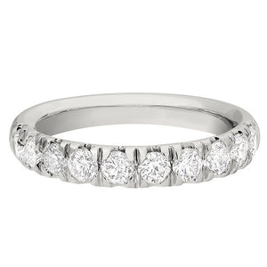 French Set Diamond Band 3/4 Carat