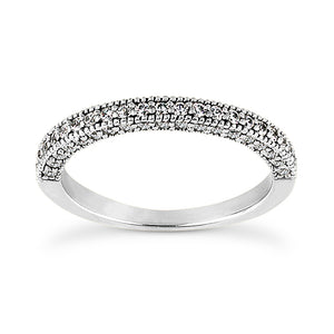 Millgrain Halo, Side Diamonds Engagement Ring Semi-mount Set