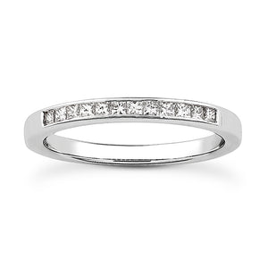 Petite Channel Princess Engagement Semi-mount Set