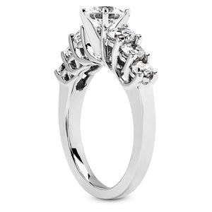Lattice Prong Engagement Semi-mount Set