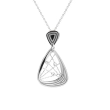 Load image into Gallery viewer, Silver Madelaie Neckalce