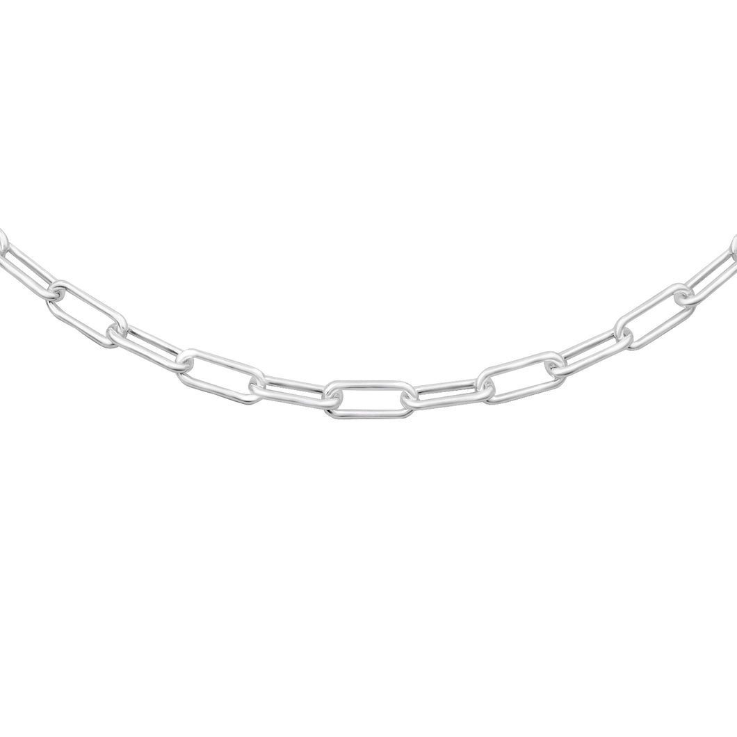 Oval Sterling Link Chain 3.2mm
