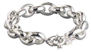 Signature Rolo Bracelet 13 mm