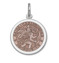 Load image into Gallery viewer, St. Christopher - Medium Pink