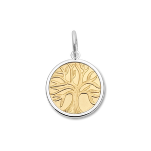 Tree of Life - Small Gold Center Vermeil