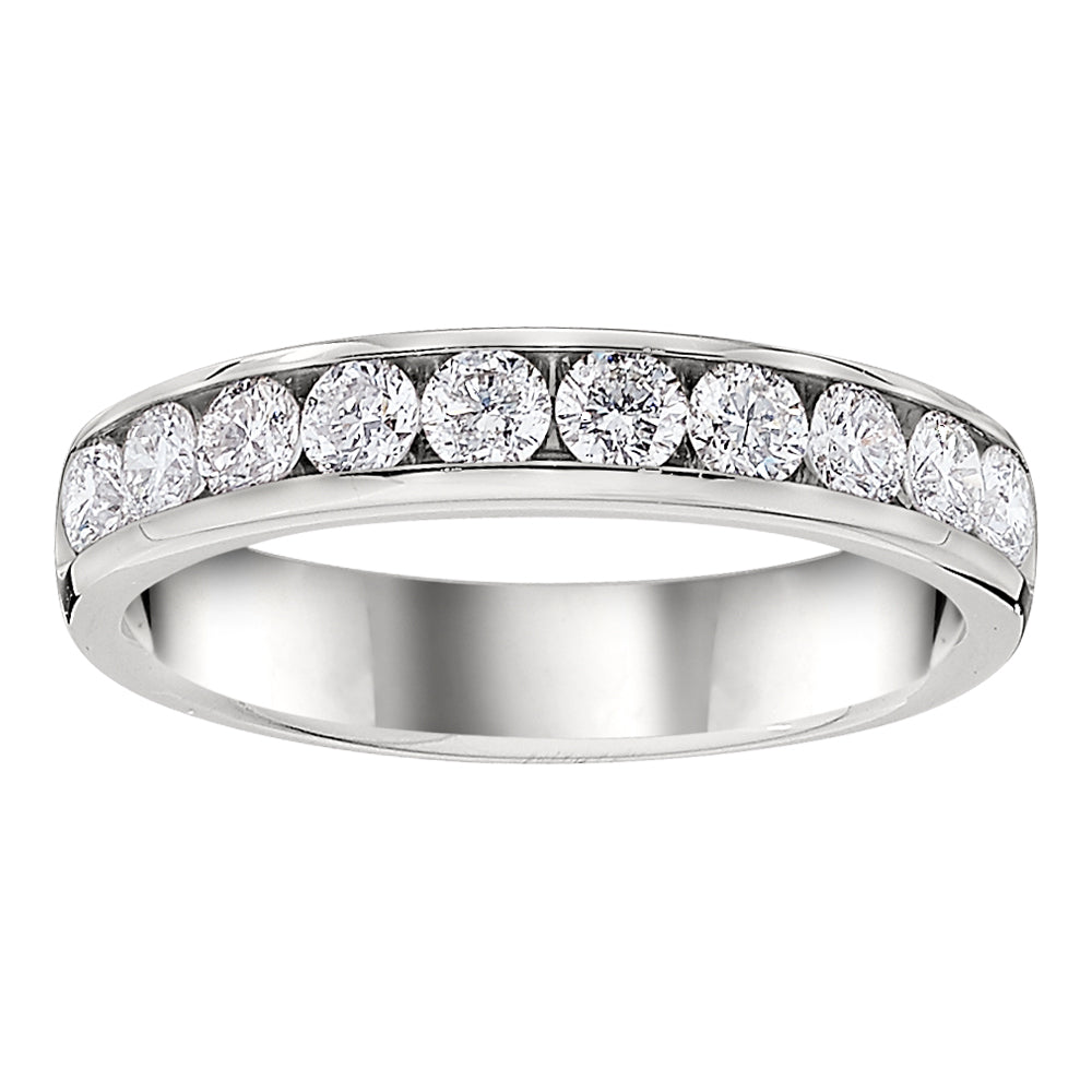 Channel Set Diamond Band 3/4 Carat