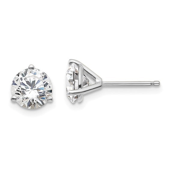 Lab Grown Diamond Stud Earrings 1/2 Carat