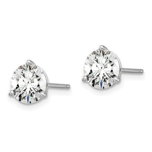 Lab Grown Diamond Stud Earrings 1 1/2 Carat