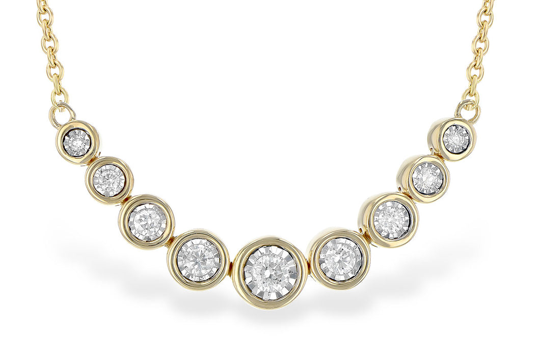 Champagne Bubbles Diamond Necklace