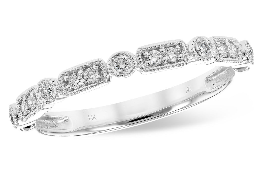 Rectangle and Round Diamond Band