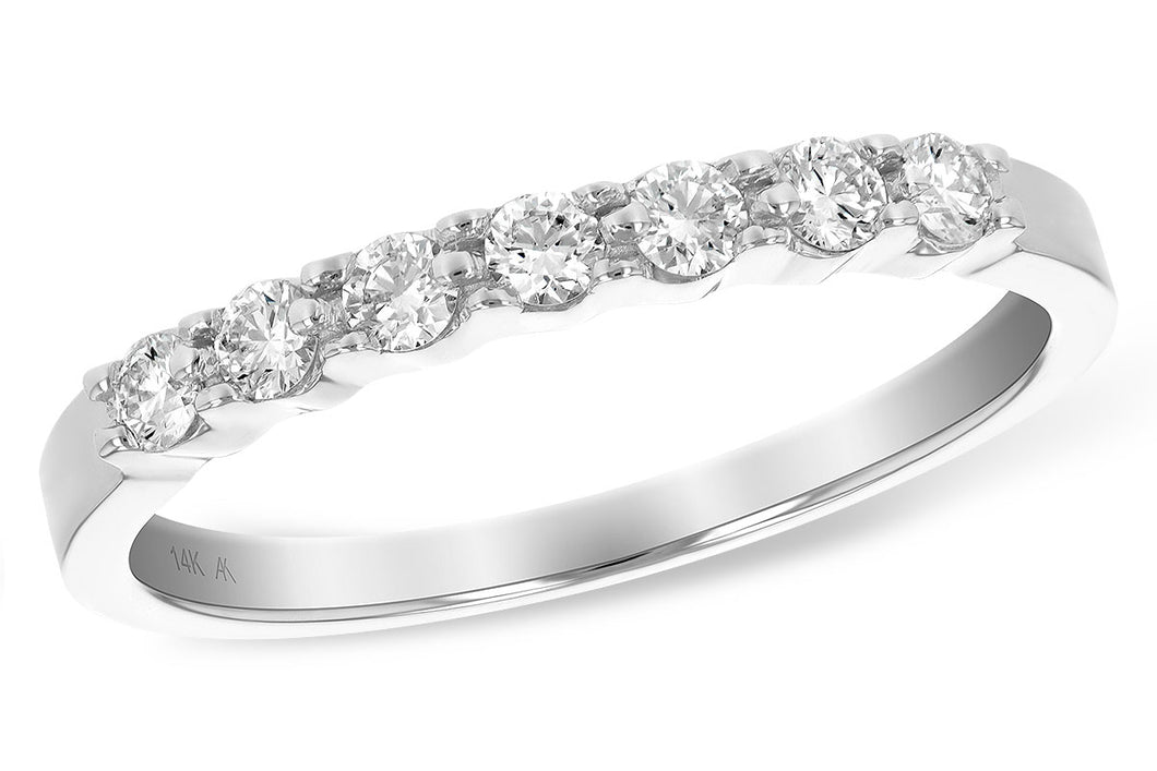 Shared Prong Diamond Band 1/4 Carat