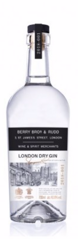 BERRY BROS & RUDD London Dry Gin 40,6%
