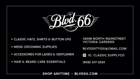 classic hats, shits, button ups, route 66, mens grooming, shave care, everyday carry, edc, accessories for ladies and gentleman, beard care, victoria gardens