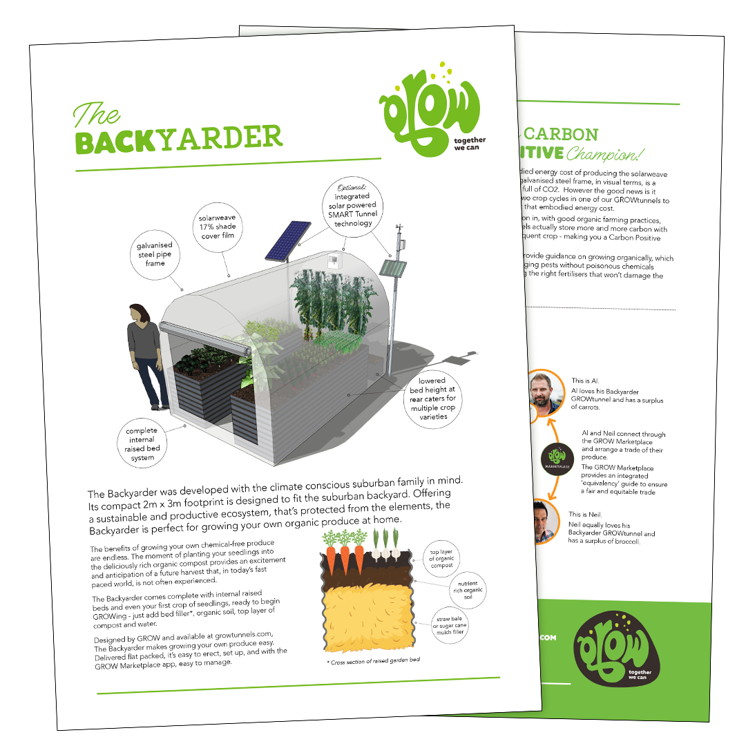 Click here to download the GROW Backyarder Brochure