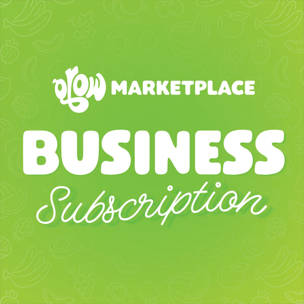 *COMING SOON* GROW Marketplace BUSINESS Subscription (12 months)