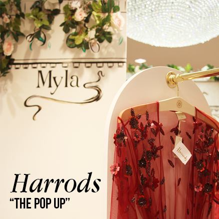 Myla x Harrods | Myla Luxury Lingerie Blog