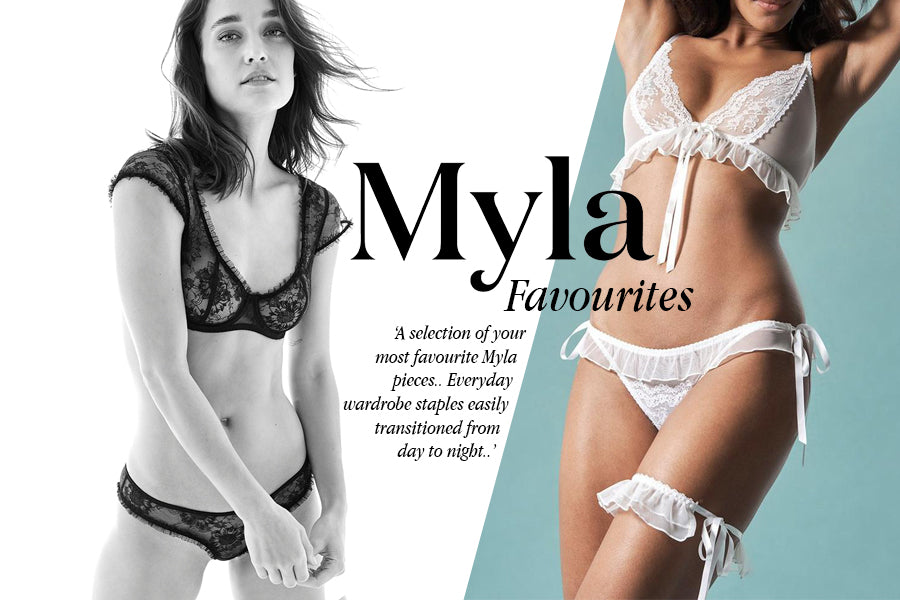 Sunburry & Elm Row Kollektionen | Luxus Dessous | Myla