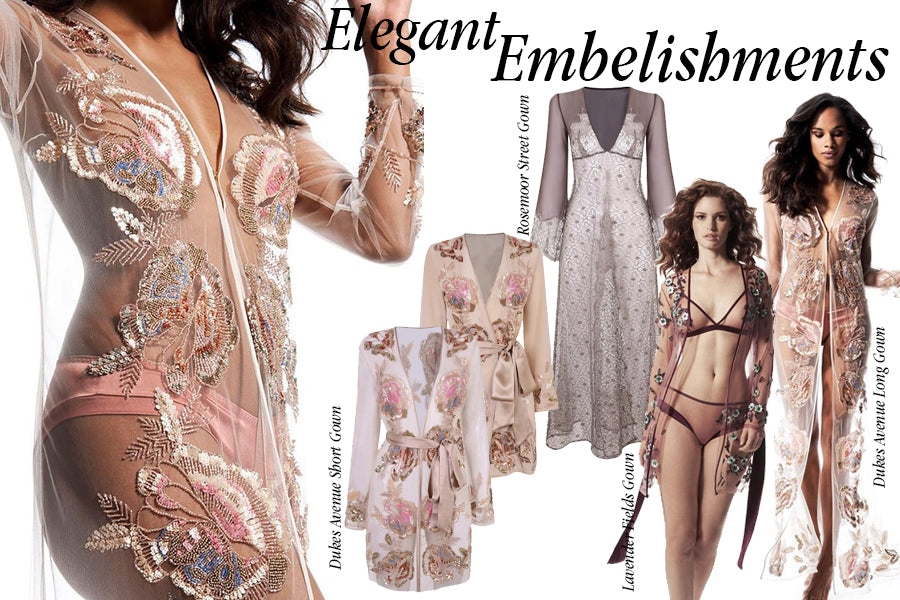 Embellished Nightwear | Luxury Loungewear | Myla