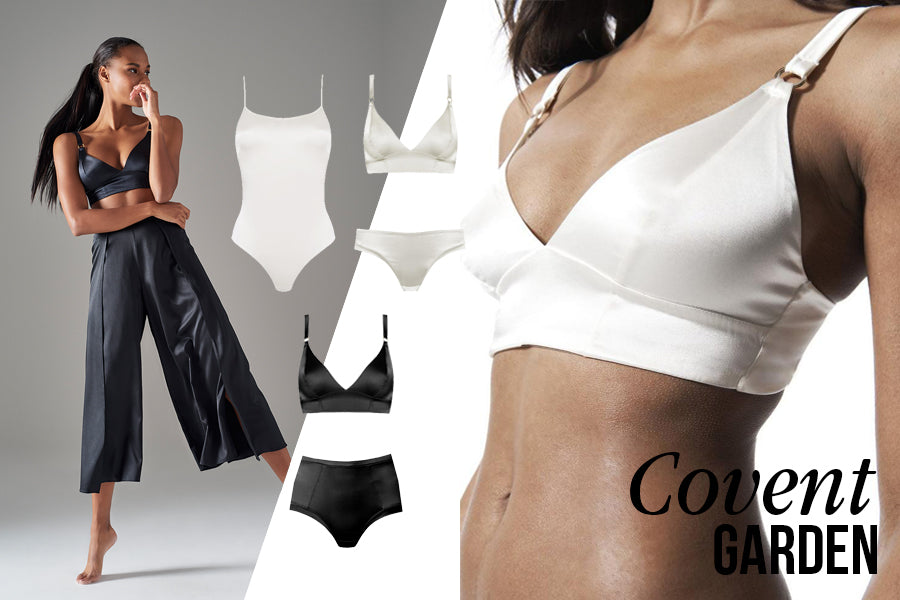 Covent Garden Silk Bra Collection | Luxury Lingerie | Myla