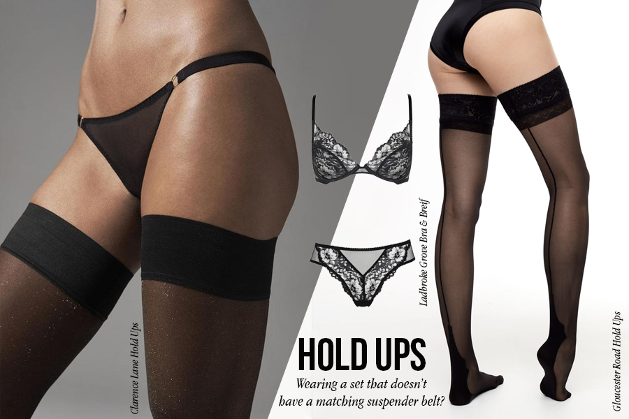 Hold Ups | Luxus Dessous | Myla