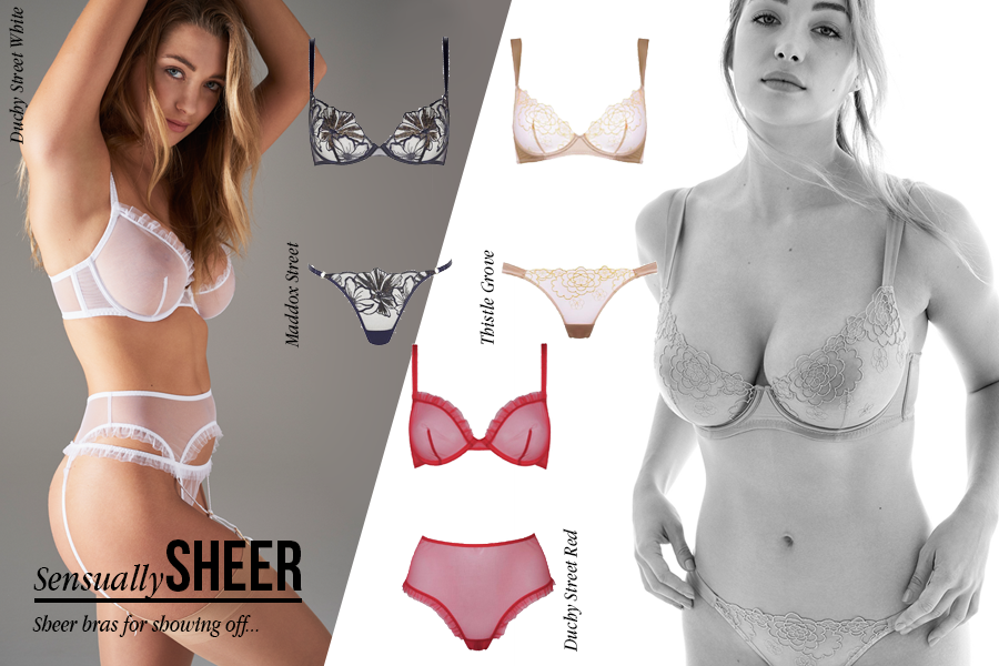Sheer Bra | Luxury Lingerie | Myla