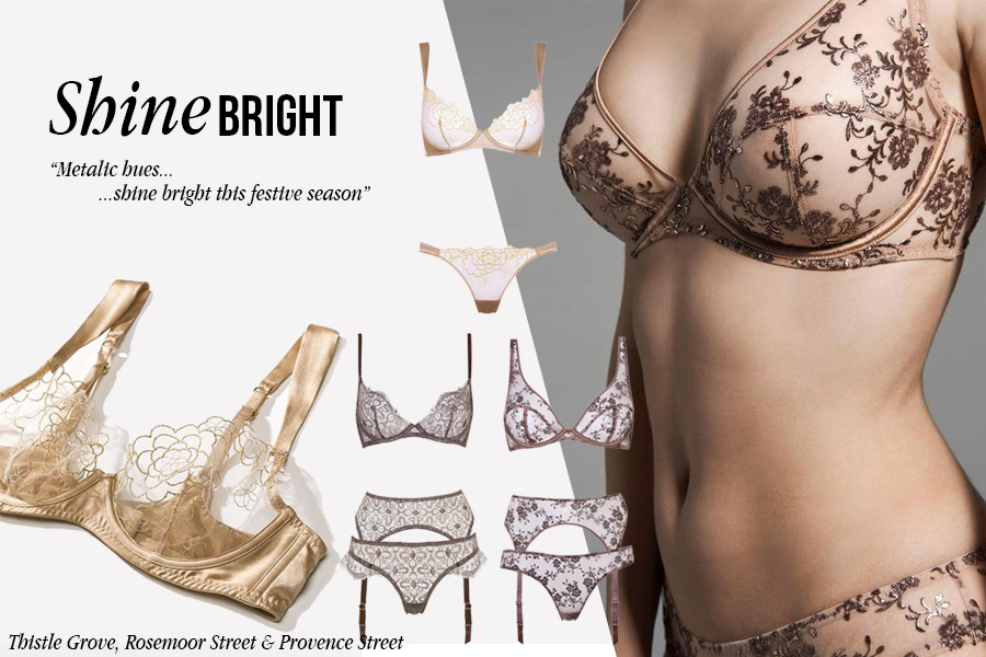 Metallic Lingerie | Luxury Lingerie | Myla