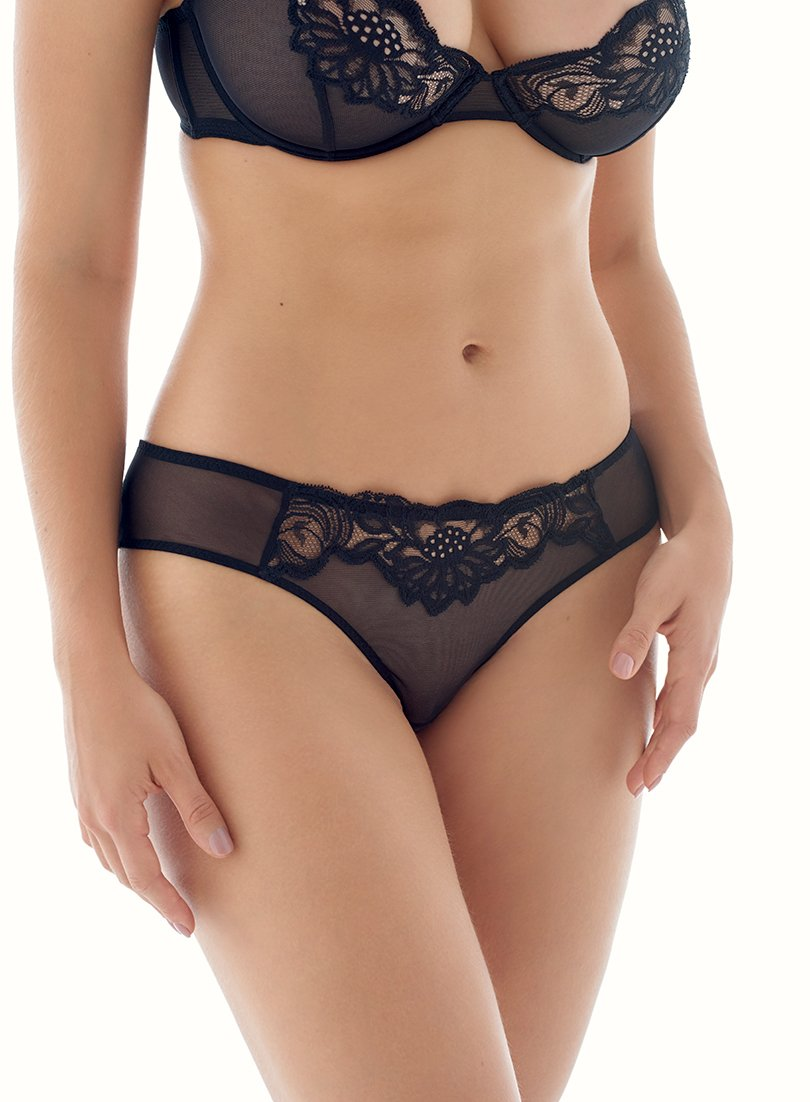 Beaty Street Brief | Zwart | Myla Lingerie