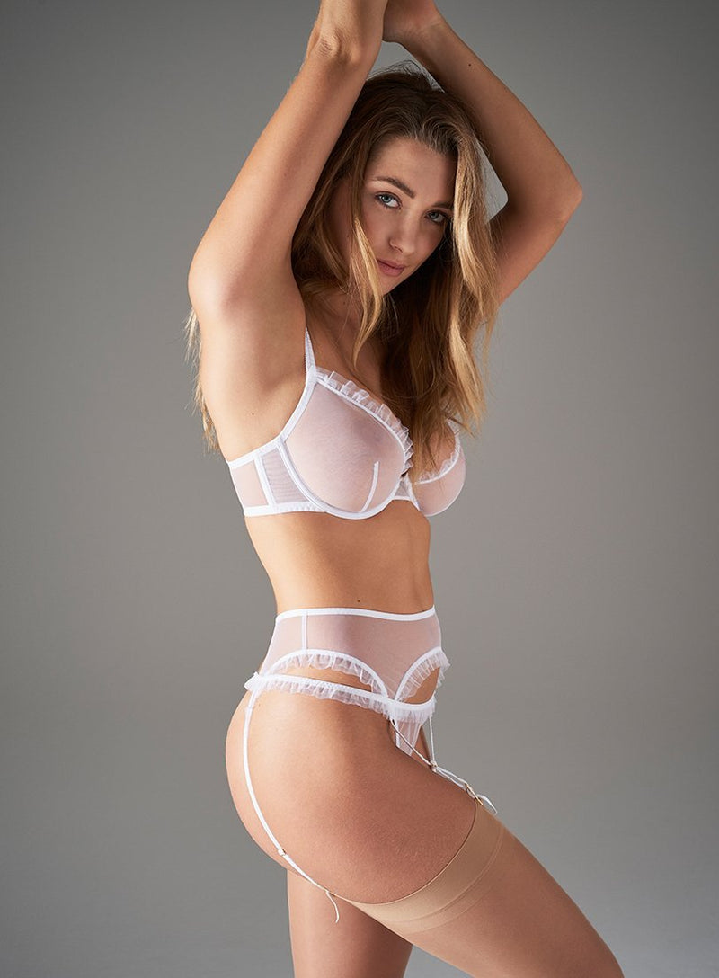 Duchy Street Thong | White | Myla Lingerie