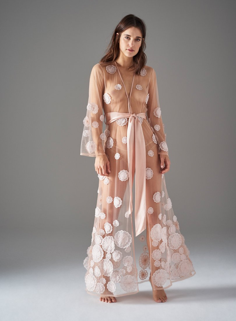 Estelle Road Long Gown | Blush | Myla | Nightwear