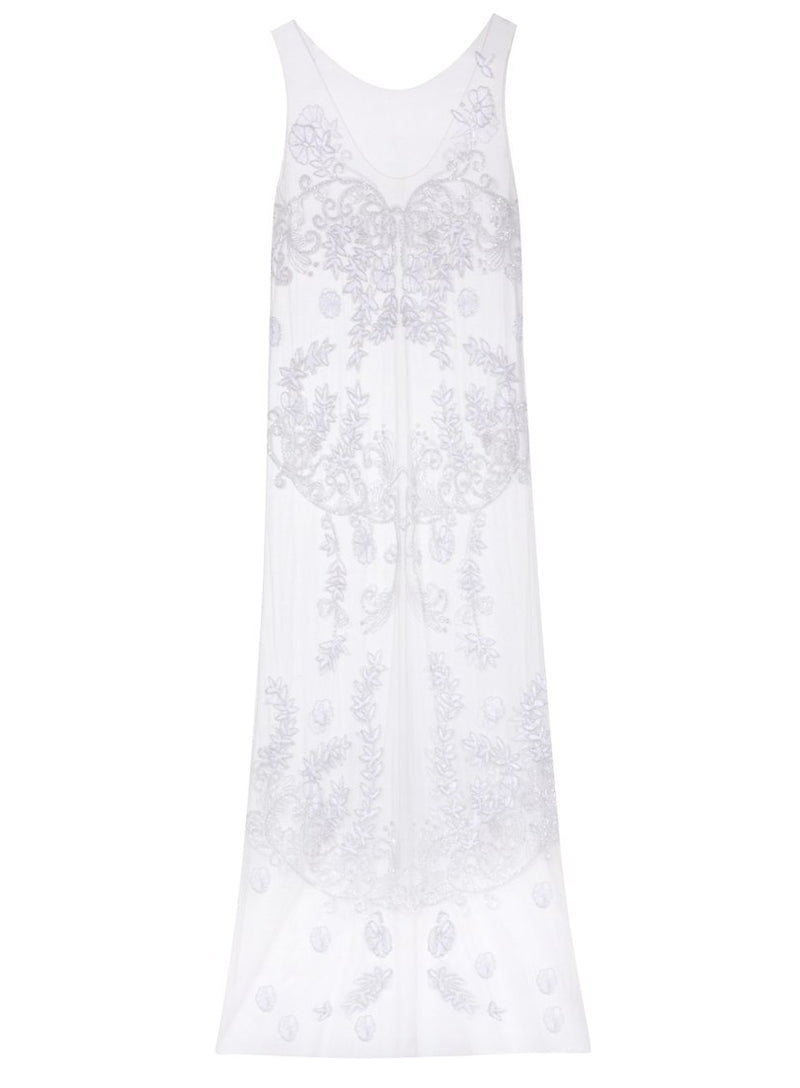 Mayfield Avenue Beaded Dress | Ivory | Myla | Nightwear