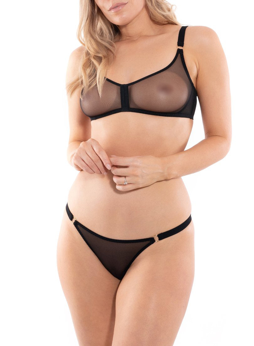 Piccadilly brasiliansk | Sort | Myla Lingerie