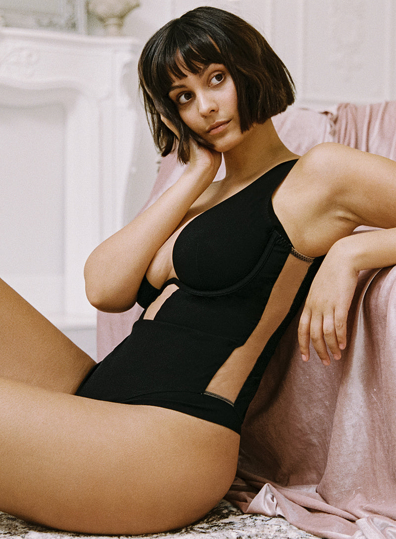 Wells Street Body | Black | Myla Lingerie