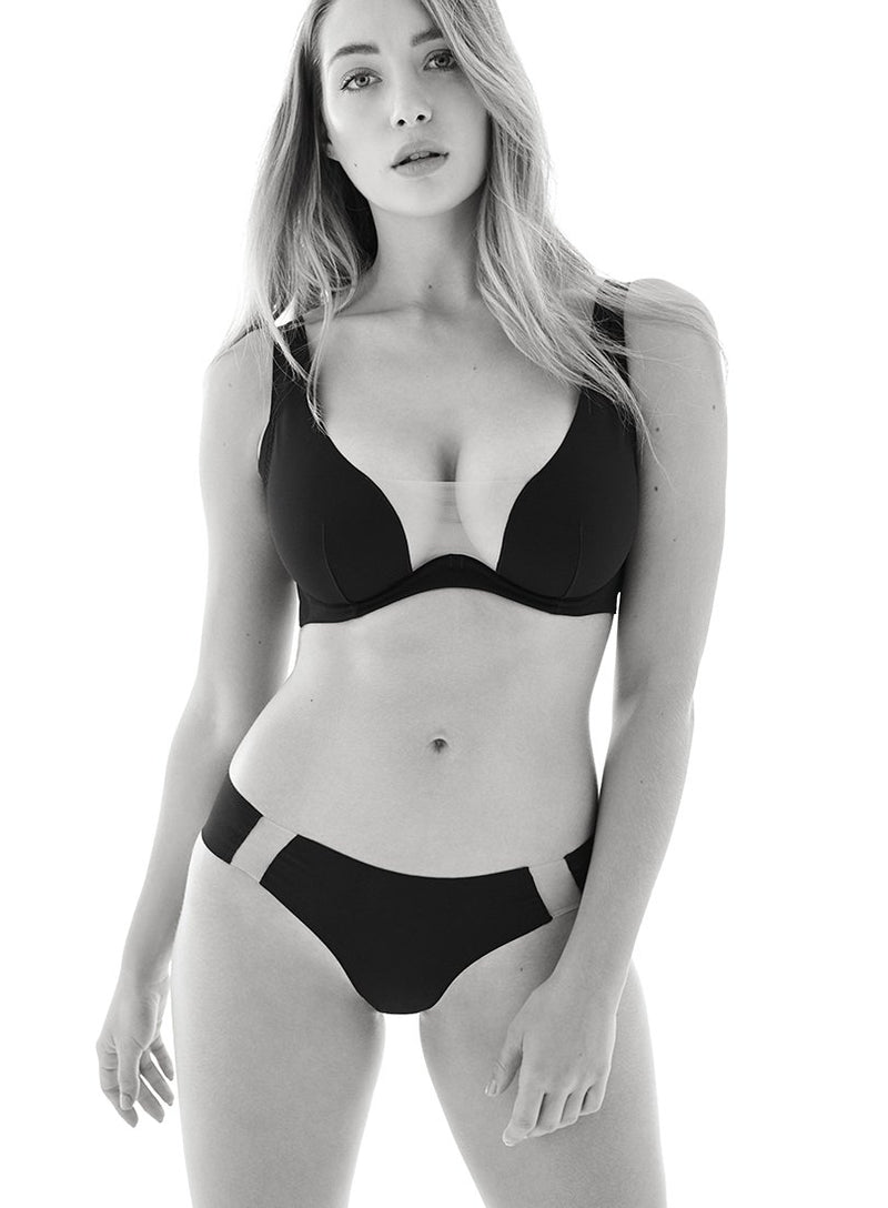 Wells Street Brief | Black | Myla Lingerie
