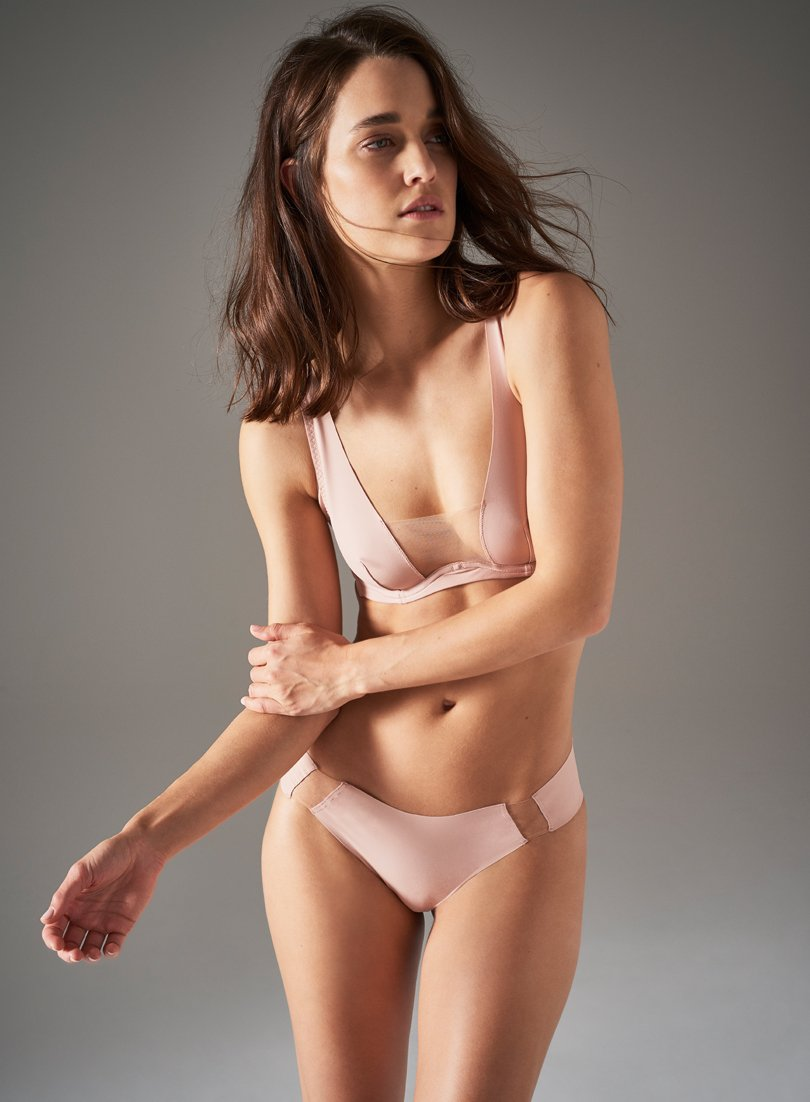 Wells Οδός Brief | Blush | Myla Lingerie