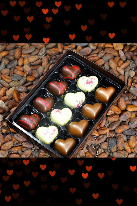12 Welsh Chocolates for Valentine's