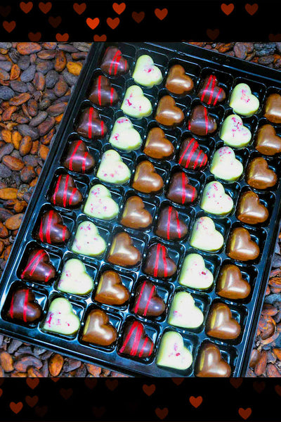 Secret 48 Valentines Day Lover Chocolate Box