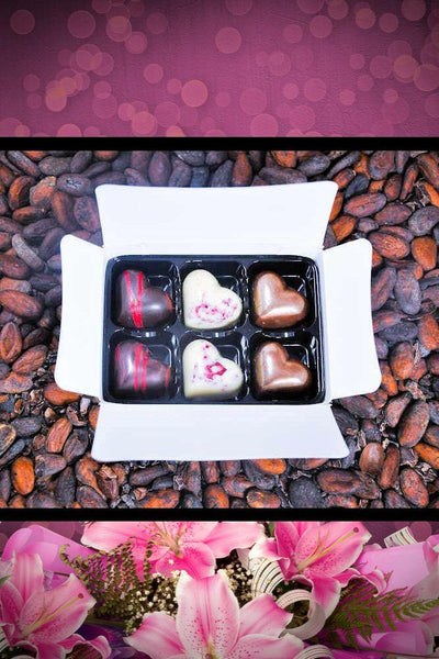 Itsy-Bitsy Box of Six Mother's Day Chocolate Treat