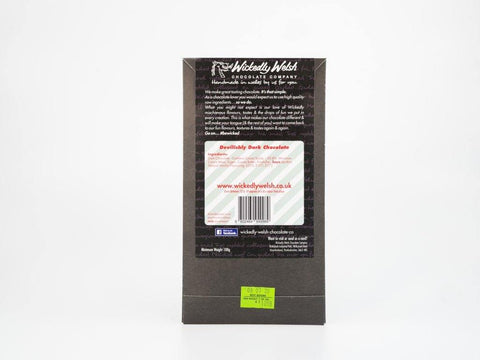 Welsh Map Dark Chocolate