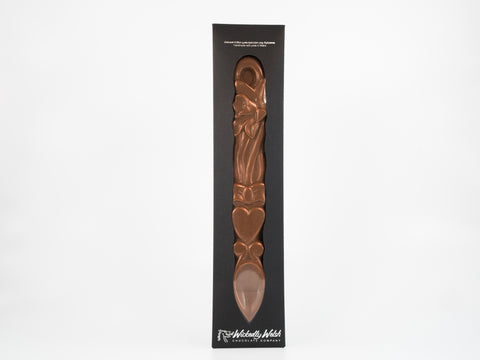 Welsh Lovespoons in Moreishly Milk Chocolate