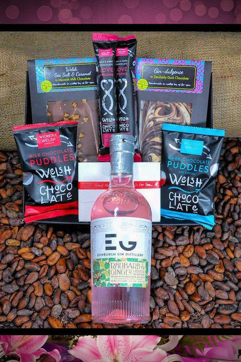 Gin Lovers Mother's Day Chocolate Gift Hamper