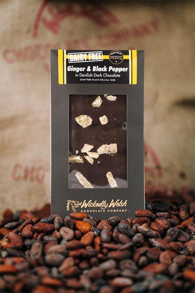 Ginger & Black Pepper Welsh Chocolate